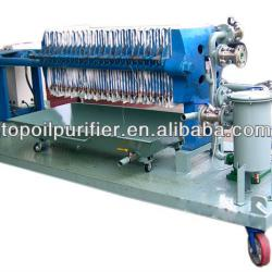 Industrial Hydraulic plate frame chamber filter press for solid and liquid separation