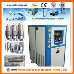 Industrial water cooled liquor chiller