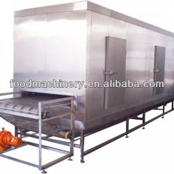 iqf tunnel freezer for meat fish fruit and vegetable