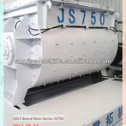 JS750 concrete mixer with variable frequency motor