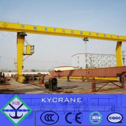 L Model 10ton rail 20 ton gantry crane with hook