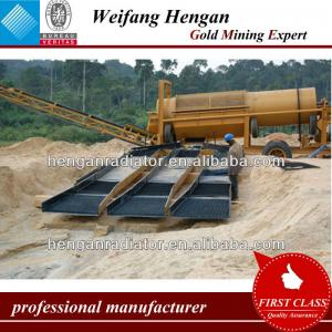 large capacity gold wash plant with low invest cost in South America