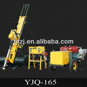 Large capacity YJQ-165 DTH rock drilling rig machine