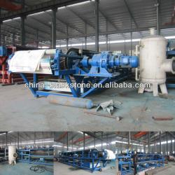Large Vacuum Belt Filter for Coal Cleaning Plant