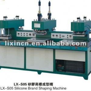 liquid silicone label making machine on garment