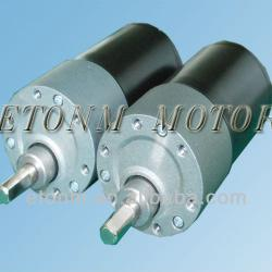 Low Noise long lifetime Brushless DC gear motor