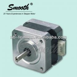 Low noise Nema Smooth 17HD stepper motor