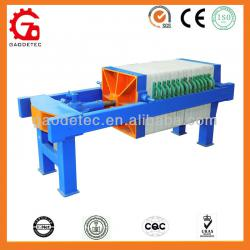 Low price easy to operation manual compact filter press