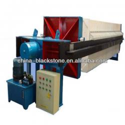 low price sludge dewatering plate and frame filter press for mining or wastewater industry