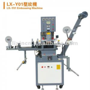 LX-Y01 automatic woven tapes embossing machine