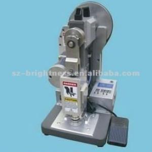 manual feeding automatic eyelet punching machine