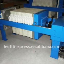 Manual Hydraulic Small Size Chamber Filter Press,Manual Filter Press Plate Shifting