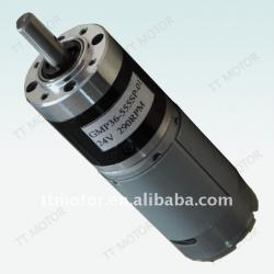 Medical equipment specialized gear motor, dc planetary gear motor