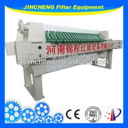Membrane filter press used in electroplating&chroming plant