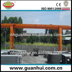MH single girder gantry crane with hoist