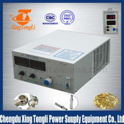 mini chrome plating machine gold plating machine 0~24V 100~300A