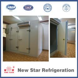 Mobile cold storage room/blaster freezer/chiller for fish and meat