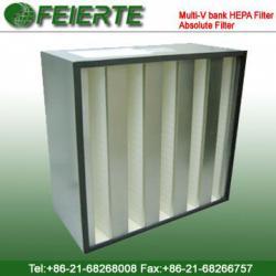 Multi-V bank HEPA Filter Absolute Filter