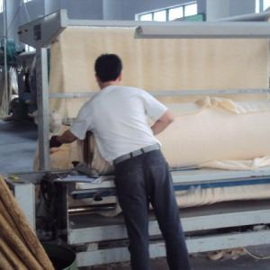 MYH5000 roller printing machine for thick fabric