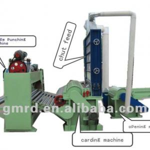 Needle Punching Machine for pp Non-woven fabric making