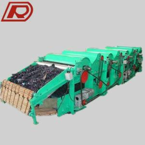 New Design High Output Cloth Waste Recycling Machine GM500 Iron Roller