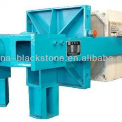 New technology filter press for stone cutting industry