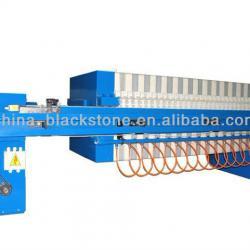 New technology sludge dewatering filter press machine
