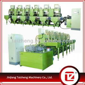 Newest technique high efficiency hydraulic hot press machine for rubber hot melt shoes wheels