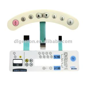 Non-tactile Membrane Switch for Sewing Machinery