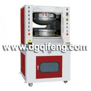 Outer sole pressing machine for footwear