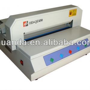 paper cutting machine HD-QZ450,we are factory