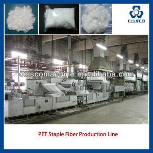 PET STAPLE FIBER PRODUCTION LINE, PET STAPLE FIBER MAKING MACHINES, RECYCLED POLYESTER STAPLE FIBER MACHINE