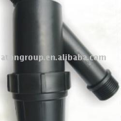 Plastic irrigation filter