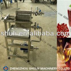 Plate and Frame fruit juice filter/juice wine filter//0086-13703827012