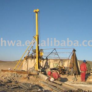 Portable hydraulic diamond Core Drill Rig with capacity 300m/NQ