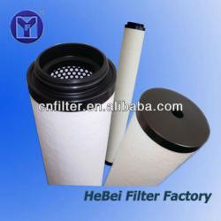 PP cotton coalescing filter element