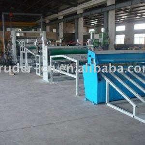PP Single Layer or Multi-layer Sheet/Plate Extrusion Line