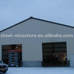 prefabricated steel cold storage house
