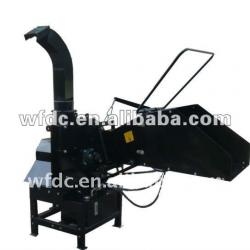PTO with tractor wood chipper machine