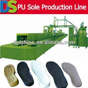 PU Shoe Sole PU Footwear Machine