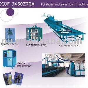 pu soles machine