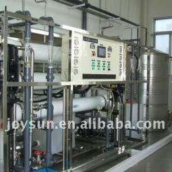 Pure water treatment system