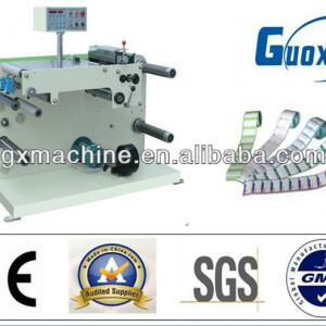 QT-320 paper/ label slitting and rewinding machine