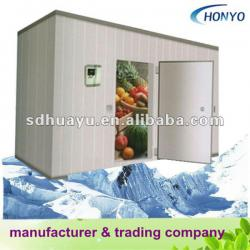 Quick installed polyurethane panel cold room