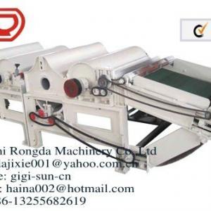 Rag tearing machine textile recycling machine