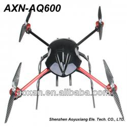 rc quadrocopter with brushless motor and camera