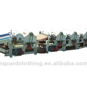 recycled cotton waste machine