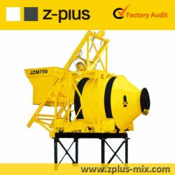 Reliable JZM750 reverse drum mixers