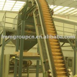 rice production line belt conveyor system