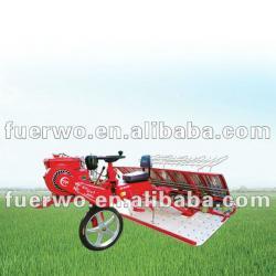 ride type 8 rows rice transplanter